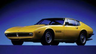マセラティ ギブリ (初代 '66-'73):V8エンジン搭載の2シーター・スーパースポーツ