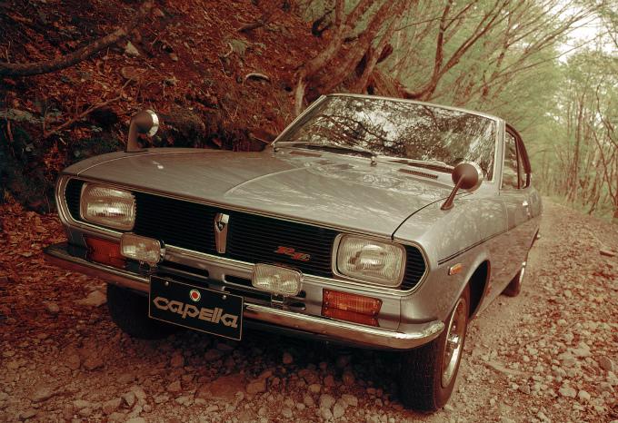 マツダ カペラ (初代 1970-1974):新開発のロータリーエンジンが用意された新型小型車 [SNA/SU2A/S122A]