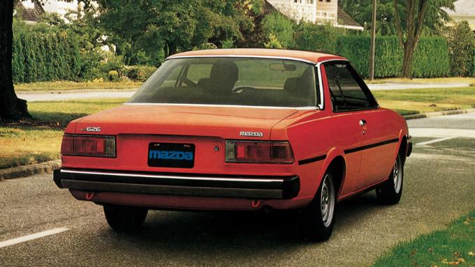 マツダ 626 2Drハードトップ (輸出仕様) 1981