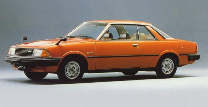 マツダ カペラ 2Drハードトップ 1981