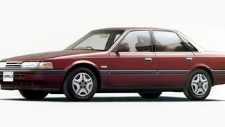 マツダ カペラ (5代目 '87-'99):歴代モデル初のフルタイム4WD車や4WS車を設定 [GD/GV]