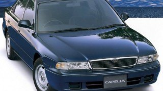 マツダ カペラ (6代目 '94-'97):後継車種クロノス3兄弟の不振を受け復活 [GG]