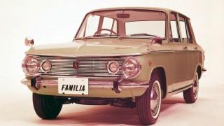 マツダ ファミリア (初代 '63-'68):同車初の本格派ファミリーカーとしてデビュー [SSA/SPA/MPA/MSAP/ BSAVD/BPAV /BSA55/BPA55]