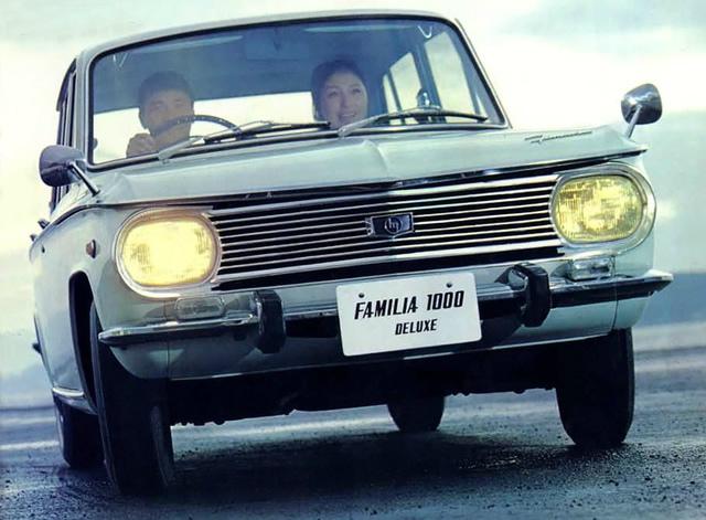 マツダ ファミリア セダン 1964