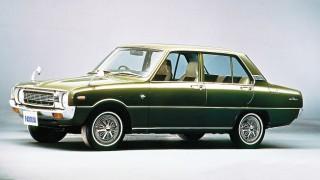 マツダ ファミリアプレスト (3代目 '73-'77):ボディサイズを拡大しロータリー車は廃止に [FA3]