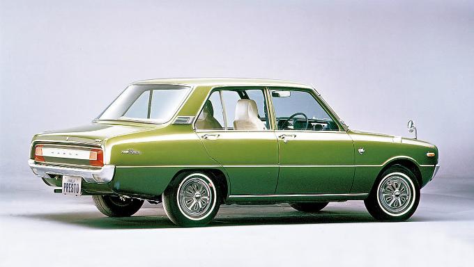 マツダ ファミリア プレスト1300 1971