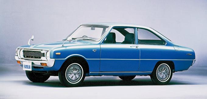 マツダ ファミリア プレスト1300クーペ 1973