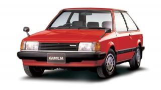 マツダ ファミリア (5代目 '80-'85):駆動方式をFFに変更しベストセラーカーに [BD]