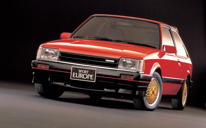 マツダ ファミリア turbo sport 1984