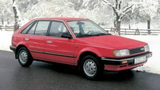 マツダ ファミリア (6代目 '85-'94):国産車初のフルタイム4WD車やカブリオレを追加 [BF]