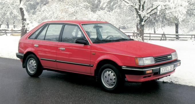 マツダ 323(輸出仕様) 1985