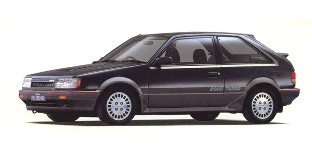 マツダ ファミリア 4WD turbo 1985