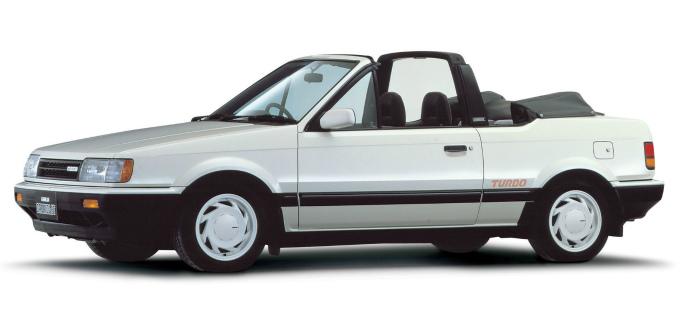 マツダ ファミリア turbo cabriolet 1985