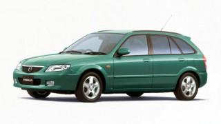 マツダ ファミリア (9代目 '98-'04):カペラの姉妹車種となったラストモデル [BJ]