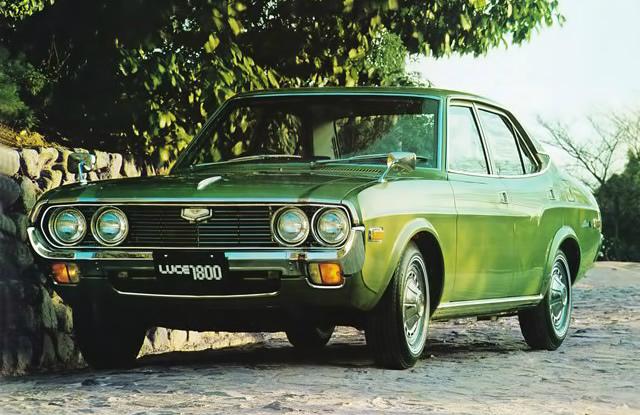 マツダ ルーチェAP 1972
