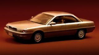 マツダ ペルソナ(ユーノス300) ('88('89)-'92):インテリアデザインに精力を込めた4ドアHT