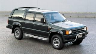 マツダ プロシードマービー ('91-'99):ピックアップトラックをベースにしたSUV [UV]