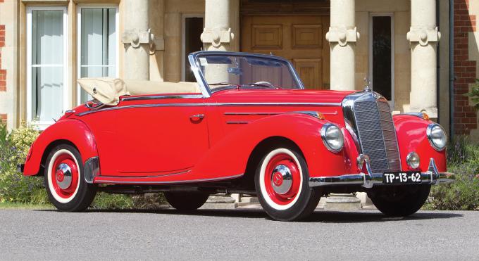 メルセデス・ベンツ タイプ220カブリオレA 1951