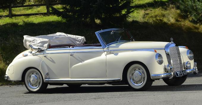 メルセデス・ベンツ タイプ300 cabriolet 1951
