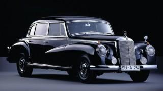 メルセデス・ベンツ タイプ300 ('51-'60):同社の戦後モデルとして初めて新設計のボディを採用 [W186/188/189]