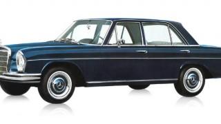 メルセデス・ベンツ W108/109 ('65-'72):テールフィンが廃止されV8エンジン車を追加