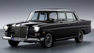 メルセデス・ベンツ W110 ('61-'68):兄貴分のW111型からテールフィンを継承