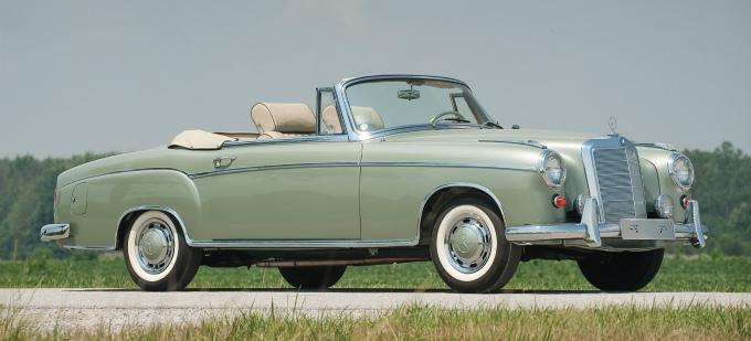 メルセデス・ベンツ 220 se cabrio 1958