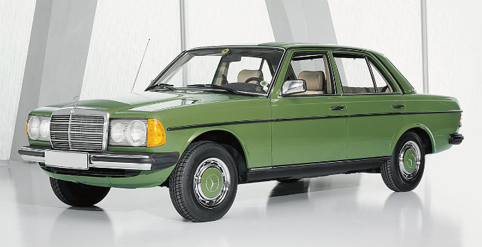 メルセデス・ベンツ W123 1976