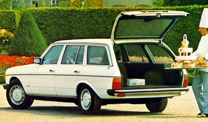 メルセデス・ベンツ W123 estate 1978