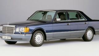 メルセデス・ベンツ Sクラス (2代目 '79-'91):燃費・環境性能を改善すると共にクーペを追加 [W126]