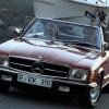 メルセデス・ベンツ SLクラス (3代目 '71-'89):ボディサイズを拡大しラグジュアリー路線に [R107]