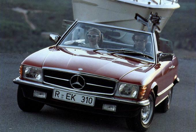 1972 mercedes 350sl specs
