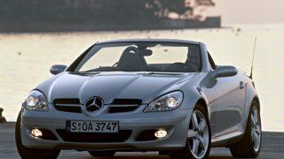 メルセデス・ベンツ SLKクラス (2代目 '04-'11):SLRマクラーレン譲りのスタイリングを採用 [R171]