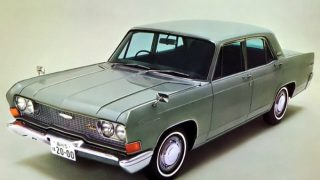 三菱 デボネア (初代 '64-'86):長期間モデルチェンジ無しで販売された高級セダン [A3#]