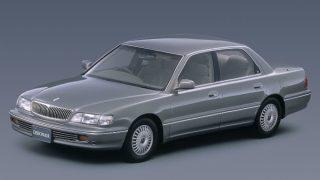 三菱 デボネア (3代目 '92-'99):先代からボディを拡大しリムジン仕様車も用意 [S2♯]