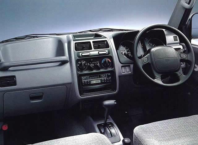 三菱 パジェロイオ ZRⅡ 1995  (出典:favcars.com)