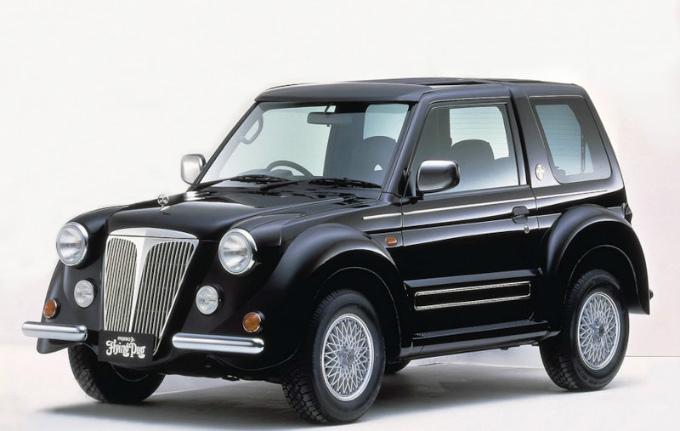三菱 パジェロイオ フライング・パグ 1999  (出典:favcars.com)
