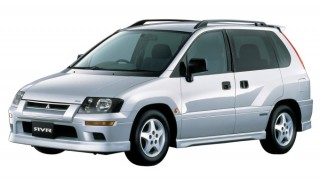 三菱 RVR (2代目 '97-'02):キープコンセプトながら新趣向のモデルも設定 [N1♯/2♯/6♯/8♯WG]