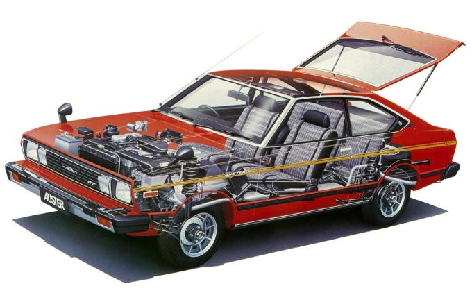 日産 オースター マルチクーペ1800GT-E 1979