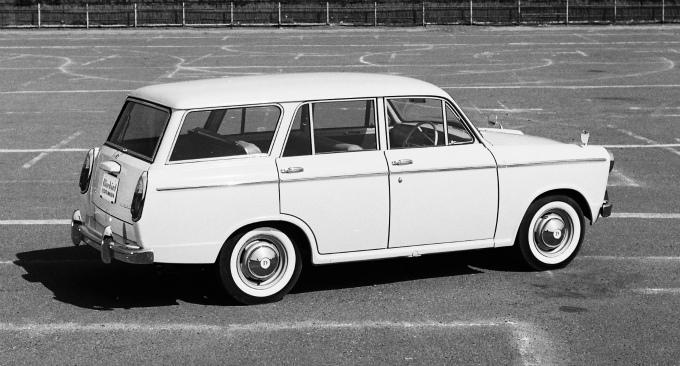 ダットサン ブルーバード ワゴン 1962