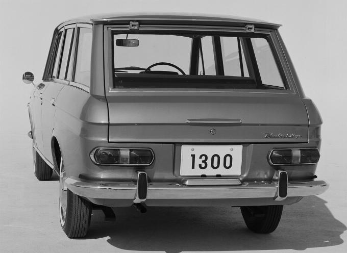 ダットサン ブルーバード ワゴン 1966