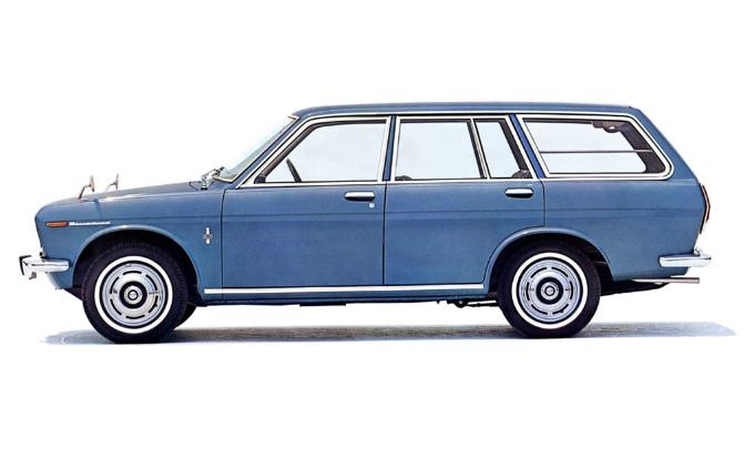 ダットサン ブルーバード ワゴン 1967