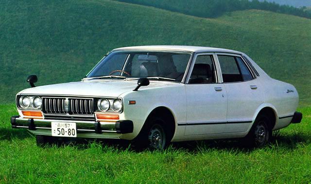 日産 ブルーバード 1976