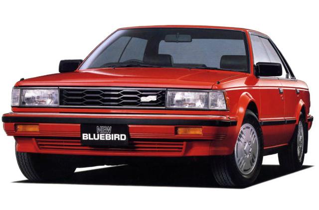 日産 ブルーバードSSSハードトップ 1983