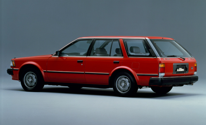 日産 ブルーバード ワゴン 1983