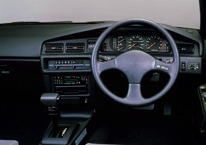 日産 ブルーバードSSSツインカムターボ HT 1987