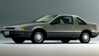 日産 エクサ ('86-'90):アメリカンなクーペとキャノピー [KN13]