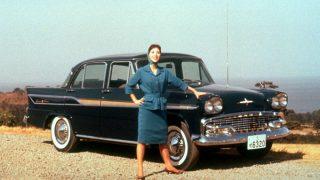 プリンス グロリア (初代 '59-'62):初代スカイラインから派生した高級セダン [BLSI]