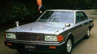 日産 セドリック/グロリア (5/6代目 '79-'83):先代からスタイリングを一新しターボ車を追加 [430]