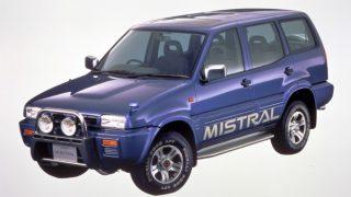 日産 ミストラル ('94-'98):スペイン日産で生産され逆輸入販売されたSUV [R20]